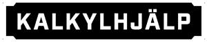 Kalkylhjälp Logotyp